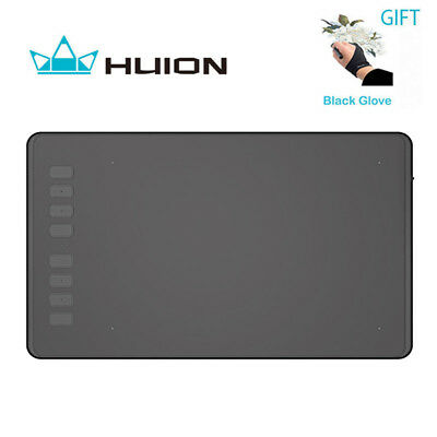 HUION H950P Graphics Drawing Tablet Pad 8192 Pressure Battery-free Stylus Pen