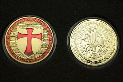 Knight's Cross commemorative coins 24K gold-plated fine collection Crafts