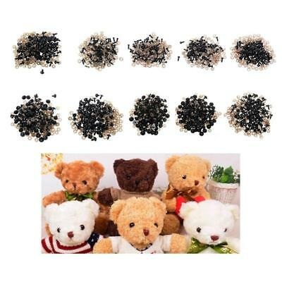 Black plastic safety toy nose for diy Puppy Bear Animal Puppet plush dolls rRT