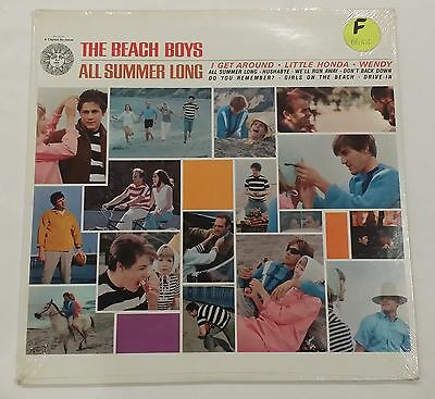 Vintage THE BEACH BOYS Factory Sealed ALL SUMMER LONG LP ALBUM  Brian Wilson