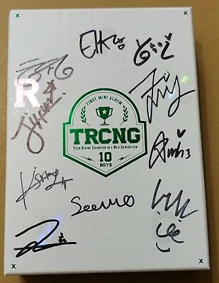 "KOREA MUSIC] TRCNG - ""New Generation"" 1st Mini Album CD K-POP (Signed CD)"