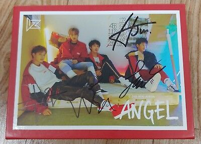 "KOREA MUSIC]  IZ ""ANGEL"" 2nd Mini Album CD K-POP (Signed CD)"
