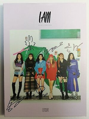 "KOREA MUSIC] (G)I-DLE, I am - ""LATATA"" 1st mini Album CD K-POP (Signed CD)"