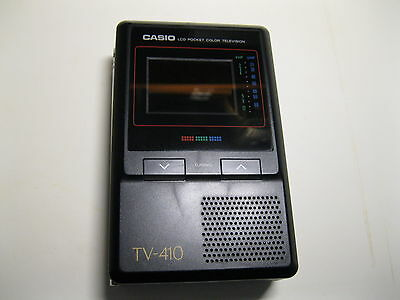 TV Pocket Vintage Casio TV410V - SPEDIZIONE GRATUITA !!!