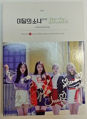 KOREA MUSIC] MONTHLY GIRL yyxy LOONA - beauty&thebeat Album CD K-POP (Signed CD)