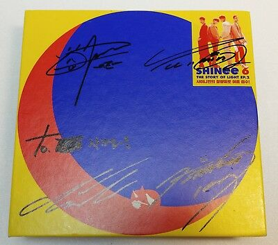 KOREA MUSIC] SHINEE -THE STORY OF LIGHT' EP.2 6th Album CD K-POP (Signed CD)