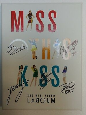 KOREA MUSIC] LABOUM - [Miss This Kiss] 2nd Mini Album CD K-POP (Signed CD)