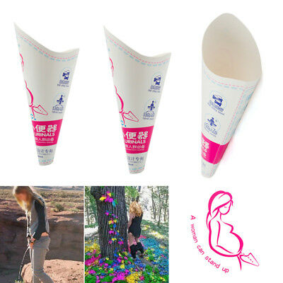 10x Female Disposable Urinal Pee Outdoor Travel Women Urination Device Tool