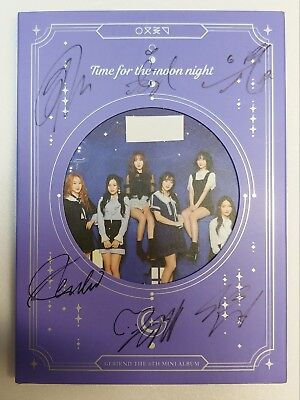 KOREA MUSIC] GFRIEND[TIME FOR THE MOON NIGHT]6th Mini Album CD K-POP (Signed CD)