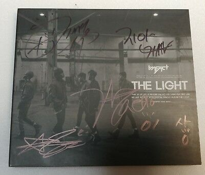 "KOREA MUSIC] IMFACT - ""THE LIGHT"" Digital Single ALBUM CD K-POP (SIGNED CD)"