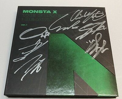 "KOREA MUSIC] Monsta X - ""The connect Dejavu"" Album CD K-POP (Signed CD)"