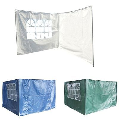 3M Party Tent Canopy Gazebo Marquee Replacement Exchangeable Side Walls Panel PE