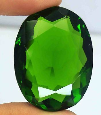Friday Offer 107.90 Ct EGL Certified A1 Quality Green Moldavite Gemstone AM906