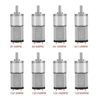 High-precision 30-300RPM 16GA030 Gear Motor DC 6V /12V for Electronic Toys High