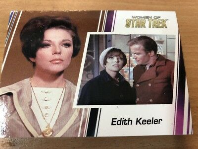 Star Trek Women Of Star Trek Promo Card P1 Edith Keeler