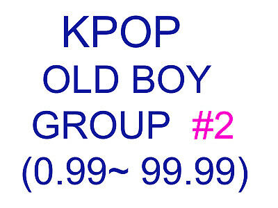 KPOP old boy group Promotion album SUPER SET 2 (Update finished)