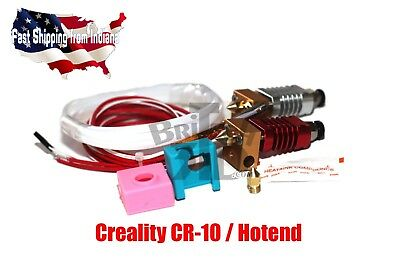 Cr-10 Hotend with Silicone Sock, Genuine Creality, 1.75 Filament