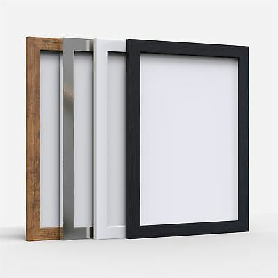 A1 A2 A3 A4 A5 Picture Photo Frame Maxi Poster Frame Black White Rustic Chrome