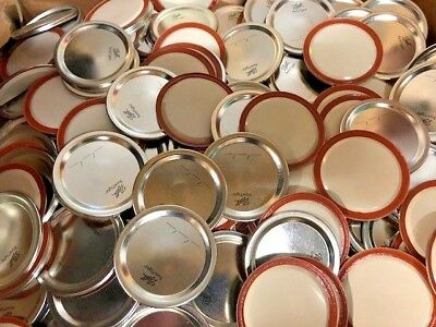 Mason Jar Lids for Regular Mouth Jar; Brand New Ball Canning Supplies - 12 lids