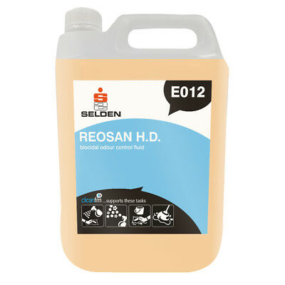 Selden E012 Reosan Biocidal Odour Control Fluid - 5 Litres - 48 HOUR DELIVERY