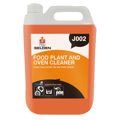 Selden J002 S20 Caustic Food, Plant & Oven Cleaner - 5 Litres  - FREE DELIVERY