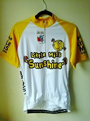 45e7123d9 Scimitar Little Miss Sunshine Ladies Cycling Jersey Funky Cycle T-Shirts Size  XL