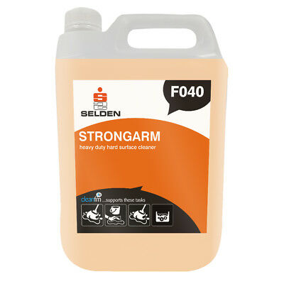 Selden F040 Strongarm Heavy Duty Hard Surface Cleaner - 5 Litres - FREE DELIVERY