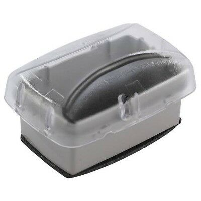 Intermatic WP3100C Weatherproof Clear Receptacle Cover