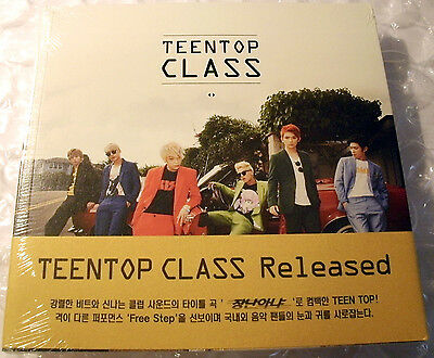 CD Teen Top Class NEW OVP kpop Chunji Niel Ricky Teentop Changjo k pop