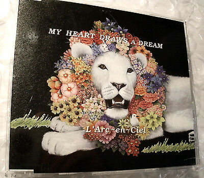 CD L'Arc-en-Ciel My Heart Draws A Dream OBI jpop jrock Hyde l arc en ciel+Bonus