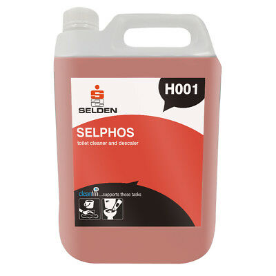 Selden H001 SELPHOS Toilet Cleaner & Descaler - 5 Litres - FREE 48 HOUR DELIVERY