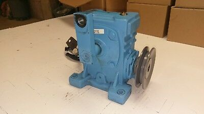 Canimex CH50 Worm Gear Reducer, Gearbox, Size 50, 60:1 Ratio w/Oil Heater/Pulley