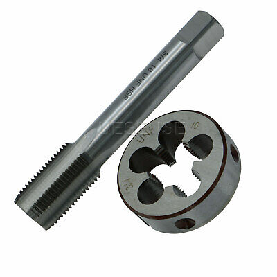 TPI Tap and Die Set HSS Right Hand New 9//16-24 9//16x24
