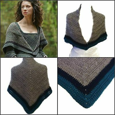 OUTLANDER CLAIRE'S RENT Shawl Pattern Claire's Crochet Pattern Amazing Outlander Crochet Patterns