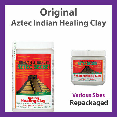 Bentonite Clay Calcium Indian Aztec Healing Clay Powder Face Mask - OFFER