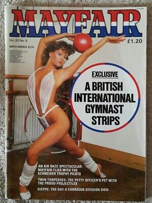 Mayfair Magazine Traci Lords  Mens Vintage Glamour