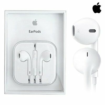 New OEM Apple EarPods iPhone 5 5s 6 6s 4 Earphones Headset Earbuds w Remote Mic