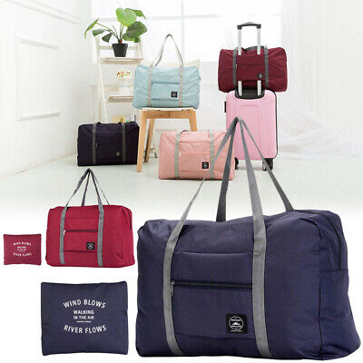 Foldable Handle Bag Waterproof Travel Storage Luggage Tote Bag for Women Men