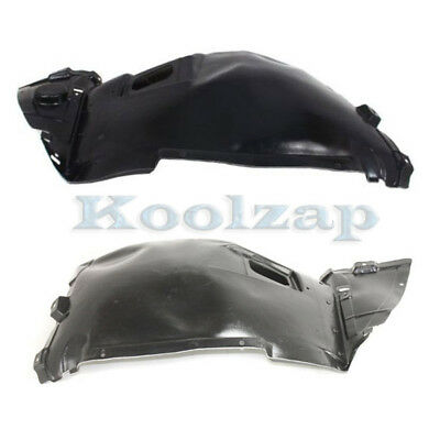 Inner Fender Splash Shield Front Set of 2 LH /& RH Side Fits Cadillac Escalade