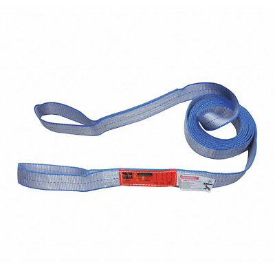 "17 ft L  x 3 in W Flate Eye and Eye Polyester Web Sling | 11"" Eye Length"