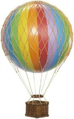 Floating The Skies Hot Air Balloon Model - Rainbow by Authentic Models