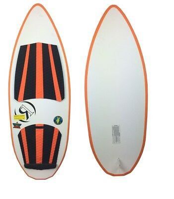 Ronix Skate Skimmer 4 ft 9 in Wakesurf - White/Blk/Orange - NEW LIMITED EDITION