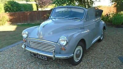 1966 Morris Minor Convertible - Dove Grey