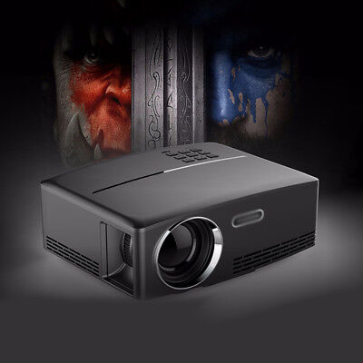 Multimedia Beamer 4K W-lan Bluetooth 4.0 3D Heimkino 7000 Lumen US / EU Stecker