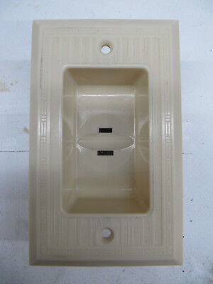 Vintage Bryant Recessed Electrical Wall Receptacle Outlet