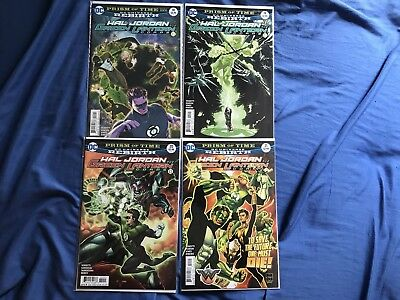 Hal Jordan And The Green Lantern Corps #18-21