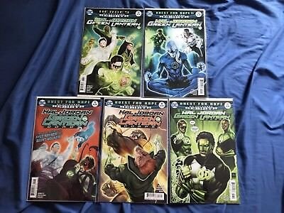 Hal Jordan And The Green Lantern Corps #13-17
