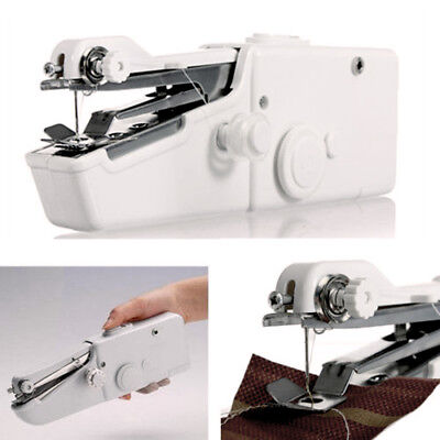Portable Electric Mini Hand-held Sewing Machine Home Craft Tools