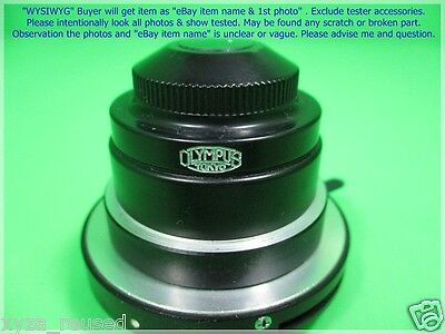 Olympus 1.25 Japan iris light control as photo, for Microscope, dφm