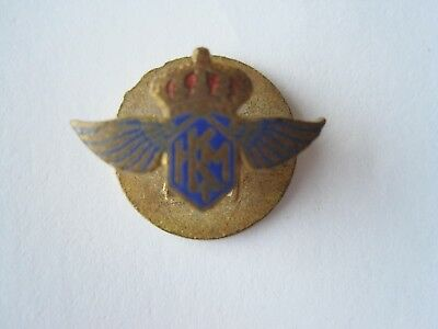 Vintage KLM Airlines Lapel Badge or Button 1950s?
